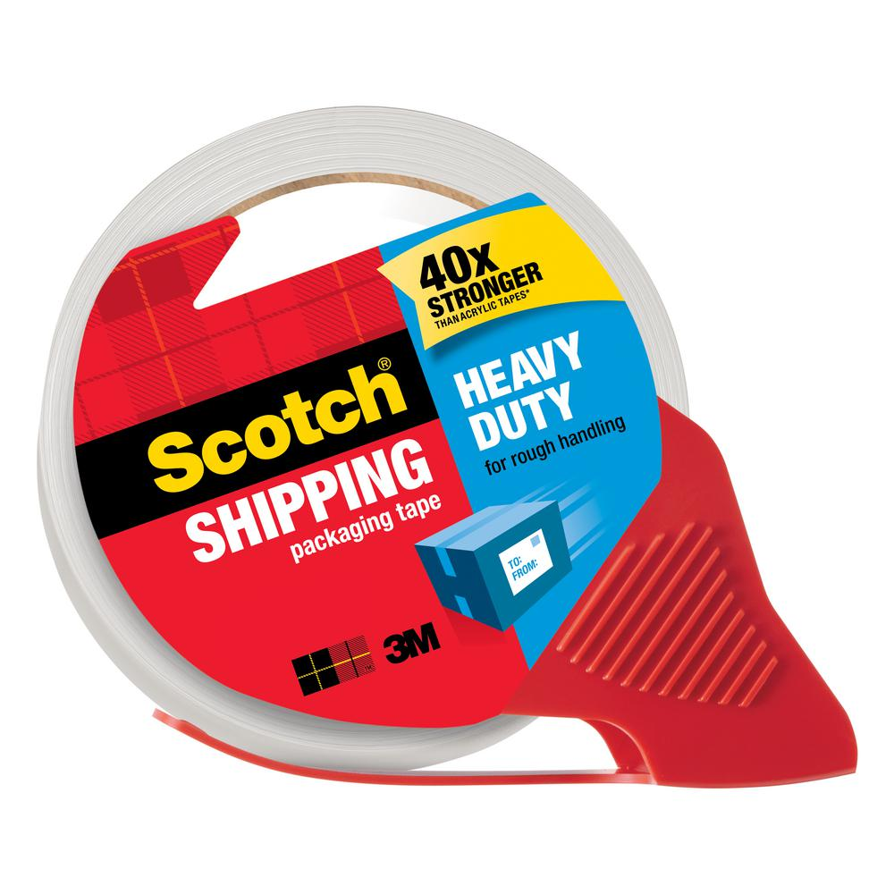 scotch packing tape dispenser loading instructions