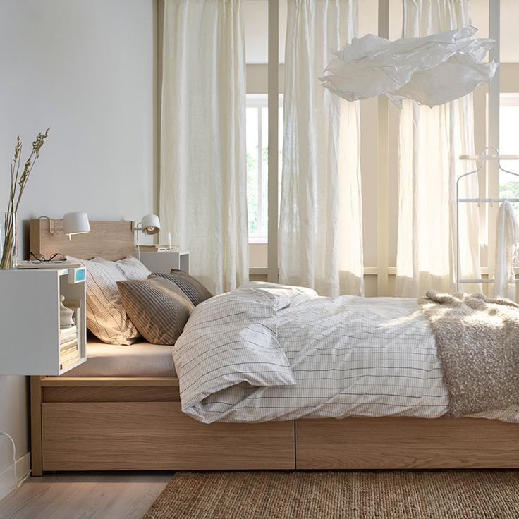 malm storage bed instructions