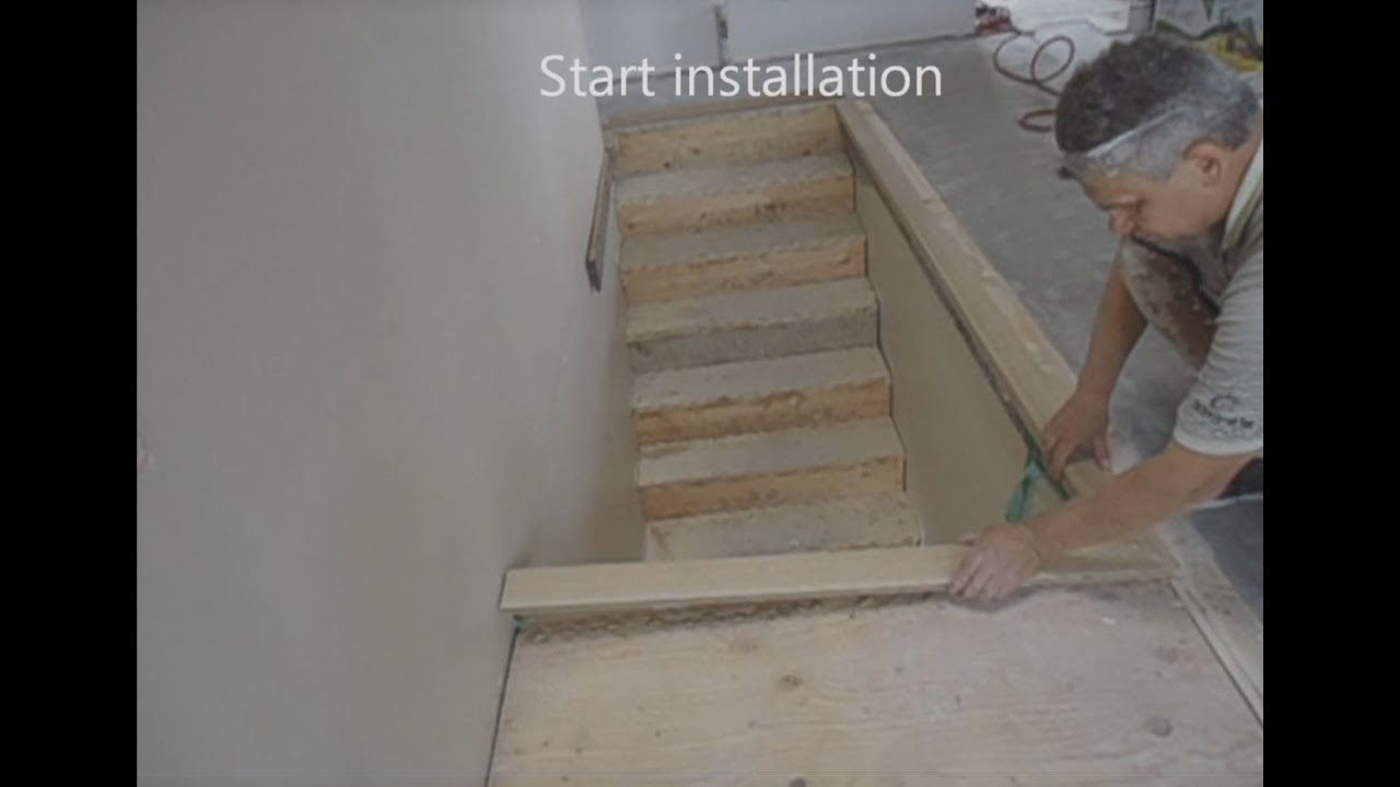 simple solutions stair nose instructions