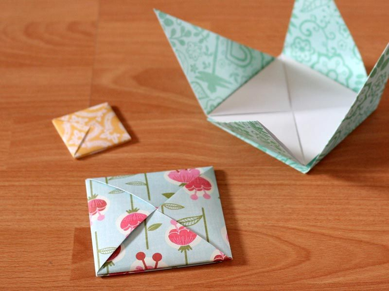 how to make an envelope step by step instructions