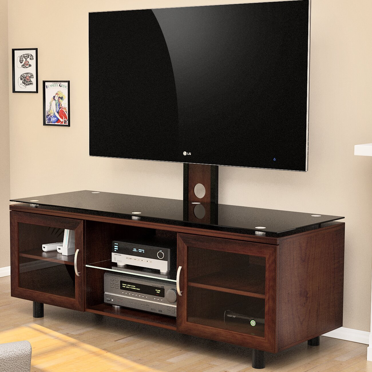 z line tv wall mount instructions
