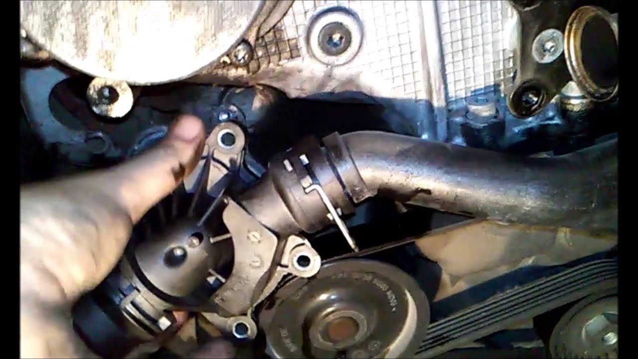 bmw e46 318i water pump replacement instructions