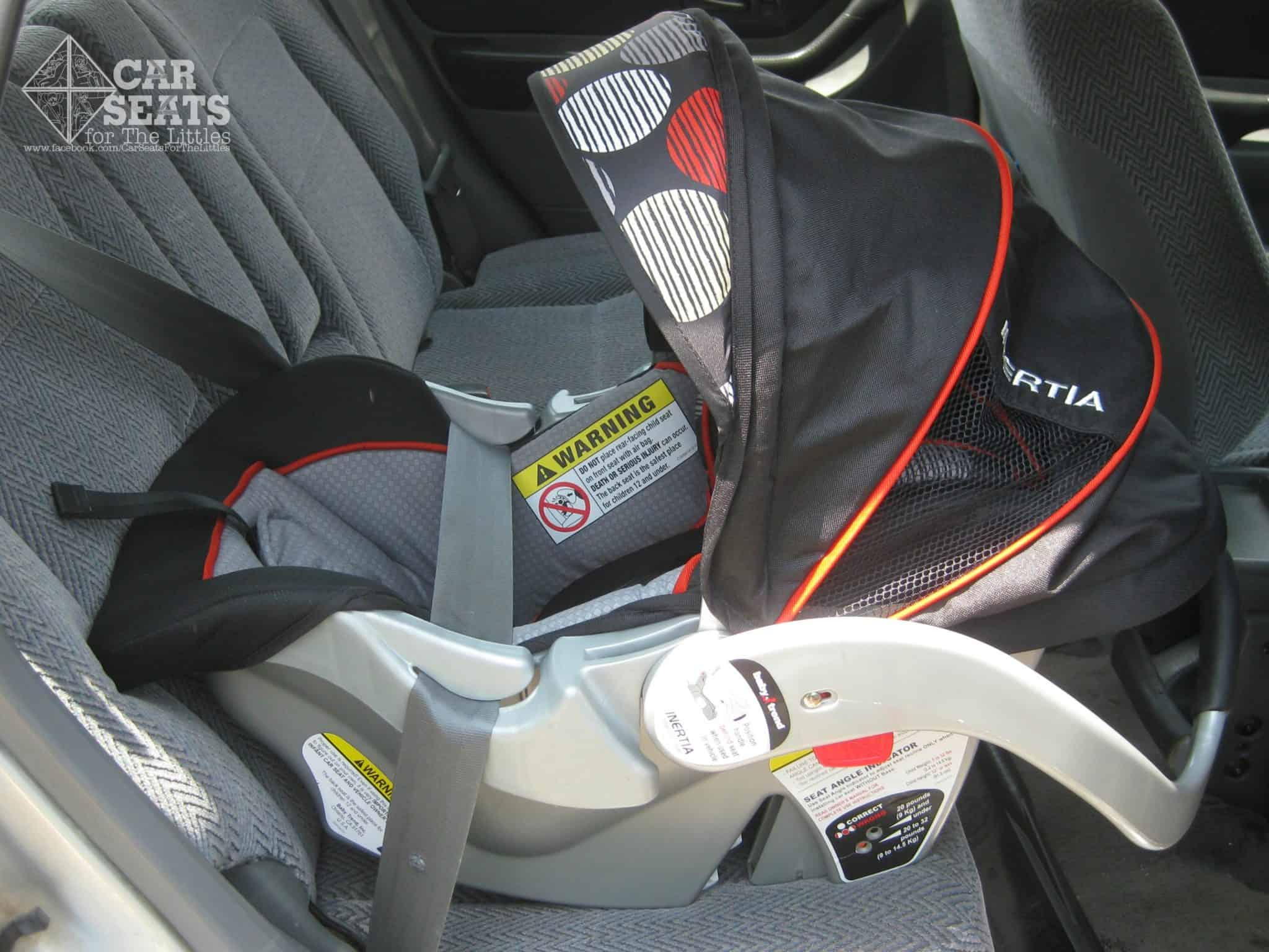 baby trend car seat strap instructions