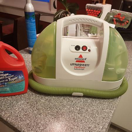 bissell little green cleaning instructions