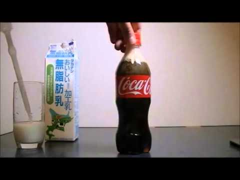 coke and milk experiment instructions