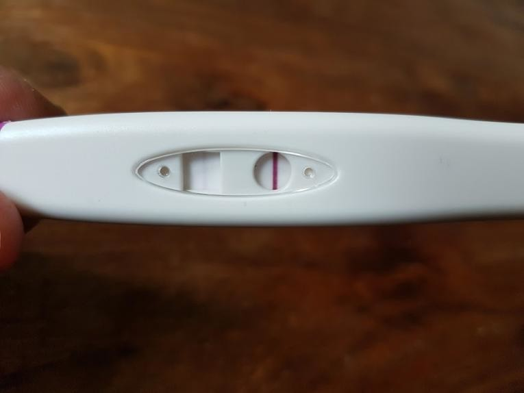 home pregnancy test instructions