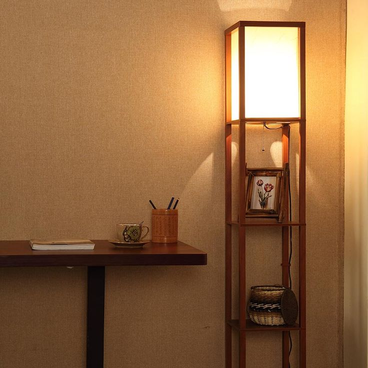 mainstays floor lamp with shelves instructions