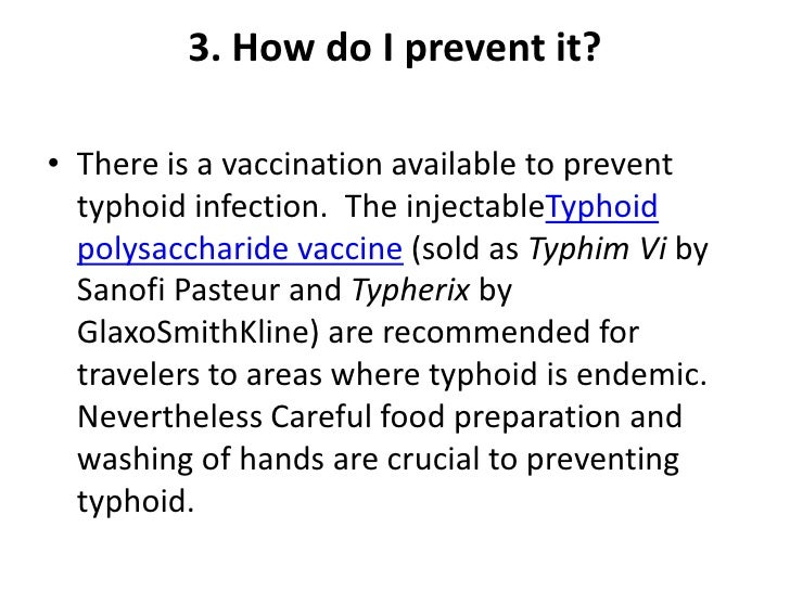 oral typhoid vaccine instructions