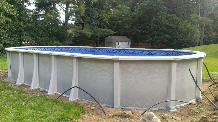 oval above ground pool installation instructions